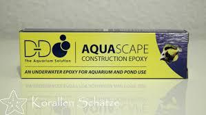 Aquascape Construction Epoxy Aquascape Zwei Komponenten Epoxidkleber Grau Korallenkleber