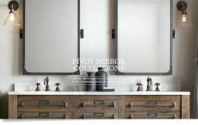 Bathroom Mirror Chrome Frameless Rectangular Bathroom Mirror Easywash Club