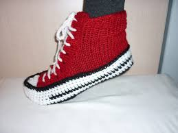 pattern crochet converse slippers cute how to crochet sneaker slippers sale sale sale men converse