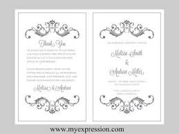 scroll wedding programs wedding program scroll clipart 29