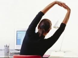 Yoga At The Office Desk Yoga At The Office Desk Desk Design Ideas