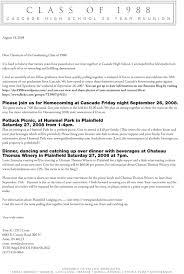 high school reunion invitations school reunion invitation letter