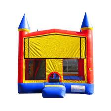 rainbow bouncer jumper bounce house castle castle house image with