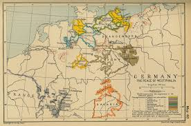 Map Og Germany by Of Germany 1648 The Peace Of Westphalia