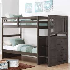 Donco Kids Princeton Stairway Bunk Bed Wayfair - Donco bunk beds
