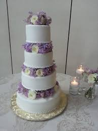 wedding cake lavender wedding cake in lavender and white bouquet wedding flower