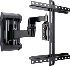 tv wall mount spacers sanus vmf220 full motion wall mount with articulating arm for 32