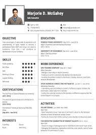 professional resume cv templates topcv me