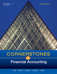 cornerstones of financial accounting first canadian edition jay