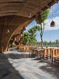 vo trong nghia architects roc von restaurant bamboo hanoi vietnam