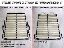 Bed Frame Replacement Parts Ottoman Gas Lift Storage Metal Bed Frame Replacement Parts Only