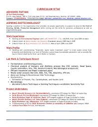 Profile Sample Resume by Resume Abhishek Pathak