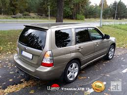 customized subaru forester subaru forester tinted llumar titanium atr 15 window film www