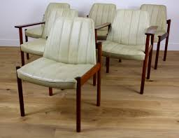 Mid Century Dining Chairs Upholstered Buy Mid Century Modern Design Rosewood Dining Chairs By Sven Ivar