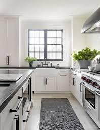 White Kitchen Cabinets With Black Hardware White Cabinets With Black Hardware The Everygirl Decorates