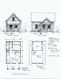 floor garden cottage one level with loft small english plans best