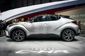 suv toyota chr toyota c hr concept car vs production car toyota