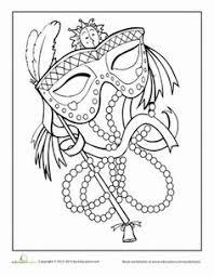 coloriage masque de venise bing images sketching drawings