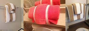 towel folding ideas for bathrooms how to fold your bathroom towels like a hotel meme design