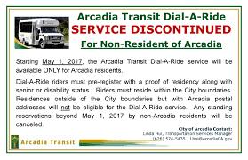 arcadia transit arcadia ca