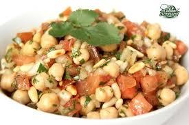 la cuisine de beranrd la salade de pois chiches recette libanaise de la cuisine de