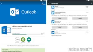 android outlook app microsoft outlook preview for android lands in the play