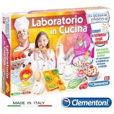 gioco cucina laboratorio di cucina gioco educativo clementoni scienza e gioco