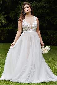 wedding dress for curvy plus size wedding dresses to make you the you always