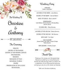 Design Your Own Wedding Program The 25 Best Print Your Own Wedding Programs Ideas On Pinterest