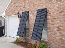 Home Window Decor Exterior Inspiring Window Design With Outdoor Shutters Gscit Org