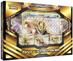 empoleon break evolution box set pokemon sealed products