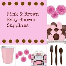 pink baby shower pink and brown baby shower ideas my practical baby shower guide