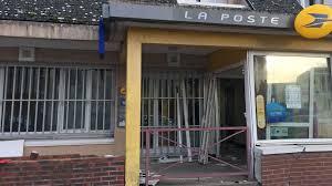 bureau de poste lazare yerville 76 attaque bélier contre le bureau de poste 3