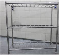 Ikea Racks by Industrial Stainless Steel Shelves Wall Mounted Shelf Contemporary