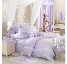 Purple Ruffle Comforter 98 Best Girls Lace Ruffle Bedding Images On Pinterest Lace