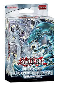 yu gi oh saga of blue eyes white dragon structure deck amazon co