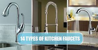 faucet types kitchen romantic types of kitchen faucets alluring gorgeous best