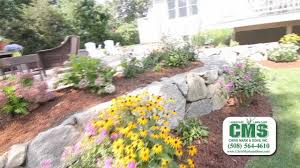 cms landscaping and lawn care youtube
