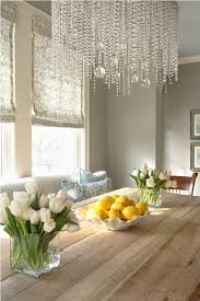 Small Room Chandelier Elegant Living Dining Space With Chandelier Neutral Wall Colors