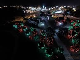 largo central park christmas lights aerial photography gallery and professional photography gallery