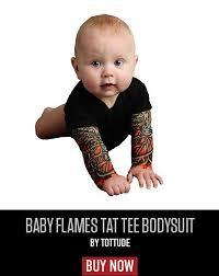 baby tattoo sleeve shirts