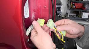 installation of a trailer wiring harness on a 2003 toyota tacoma