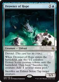Mtg Sideboard Budget Blue Devoid Eldrazi Deck Magic The Gathering Card Theme