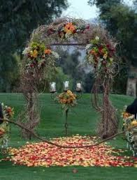 wedding arches outdoor 36 fall wedding arch ideas for rustic wedding arch wedding and