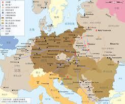 Map Of Europe Ww2 File Ww2 Holocaust Europe Map Zh Hans Svg Wikimedia Commons