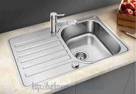 Lantos Stainless Steel Kitchen Sinks BLANCO Lantos SIF Compact - Compact kitchen sinks stainless steel