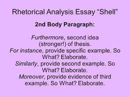 Contrast And Comparison Essay Examples Rhetorical Analysis Sample Essays An Example Of A Rhetorical