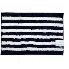 Black And White Bathroom Rug by Mainstays Dots And Stripes Bath Rug Walmart Com