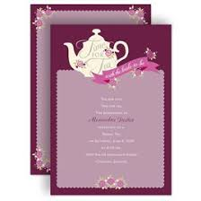 bridal tea party invitation bridal shower invitations invitations by