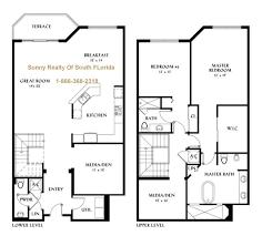 two floor plan two apartment floor plans homes floor plans